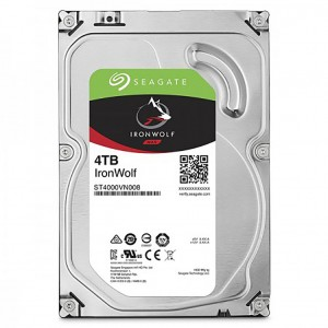 HDD 4TB SEAGATE IRONWOLF ST4000VN008