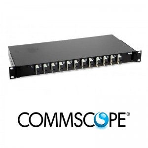 Fiber Optic Rack Mount Patch Enclosure COMMSCOPE / AMP 4-1206138-4