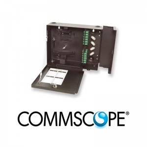 Fiber Optic Wall Mount Patch Enclosure COMMSCOPE / AMP 84751-2