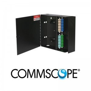 Fiber Optic Wall Mount Patch Enclosure COMMSCOPE / AMP 84751-5