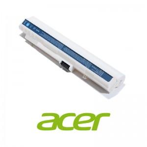 Pin Laptop Acer Aspire One 6 cell extended run - White