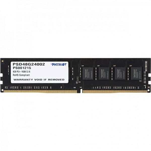 RAM 8GB PATRIOT BUS 2400MHZ