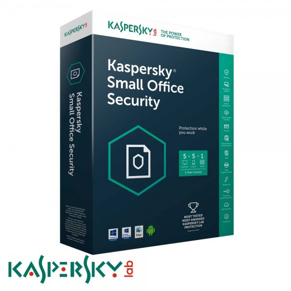 Kaspersky Small Office Security 5Pcs