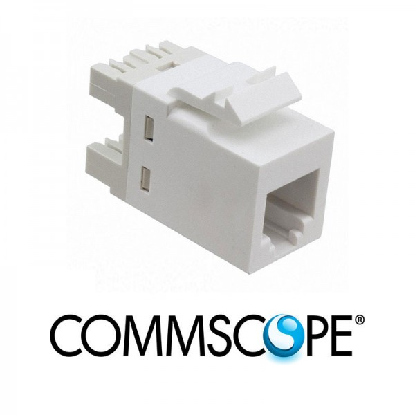 Category 3 Modular Jack COMMSCOPE / AMP 1375192-1
